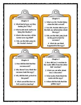 Calendar Mysteries APRIL ADVENTURE - Discussion Cards