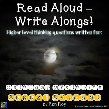 Calendar Mysteries, August Acrobat Read Aloud Write Along