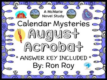 Calendar Mysteries: August Acrobat (Ron Roy) Novel Study / Reading Comprehension