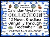 Calendar Mysteries COLLECTION (Ron Roy) 12 Novel Studies: January thru December