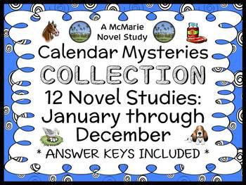 Calendar Mysteries COLLECTION (Ron Roy) 12 Novel Studies: