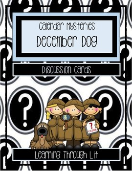Calendar Mysteries DECEMBER DOG - Discussion Cards