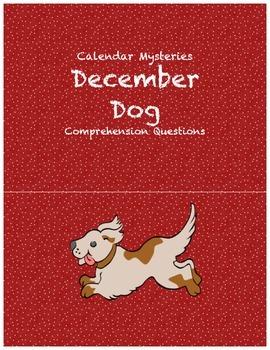 Calendar Mysteries December Dog comprehension questions