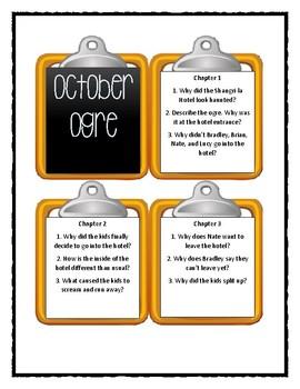 Calendar Mysteries OCTOBER OGRE - Discussion Cards