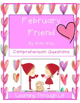 Calendar Mysteries FEBRUARY FRIEND - Comprehension & Text