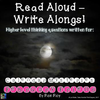Calendar Mysteries, February Friend Read Aloud Write Along