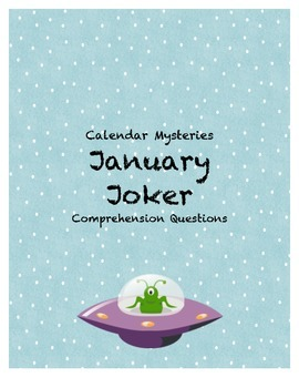 Calendar Mysteries January Joker Comprehension Questions