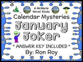 Calendar Mysteries: January Joker (Ron Roy) Novel Study / Reading Comprehension