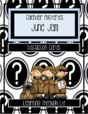 Calendar Mysteries JUNE JAM - Discussion Cards