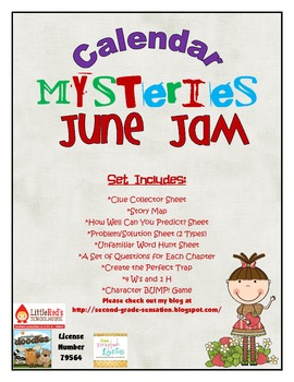 Calendar Mysteries June Jam by Ron  Roy