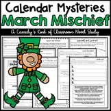 Calendar Mysteries March Mischief Novel Study and Activities