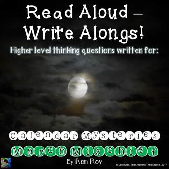 Calendar Mysteries, March Mischief Read Aloud Write Along