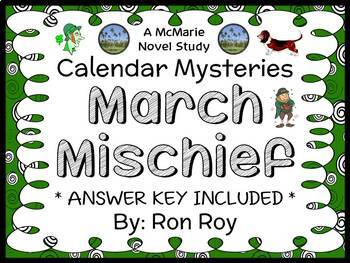 Calendar Mysteries: March Mischief (Ron Roy) Novel Study / Reading Comprehension