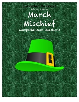 Calendar Mysteries March Mischief comprehension questions