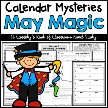 Calendar Mysteries May Magic Novel Study