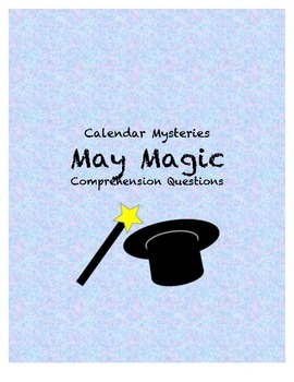 Calendar Mysteries May Magic comprehension questions
