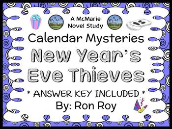 Calendar Mysteries: New Year's Eve Thieves (Ron Roy) Novel Study / Comprehension