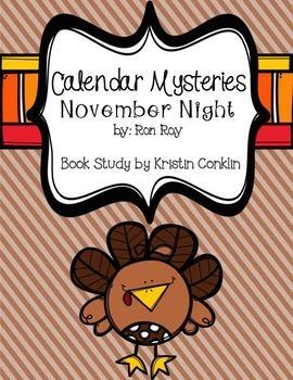 Calendar Mysteries November Night