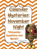 Calendar Mysteries November Night Discussion Questions and More