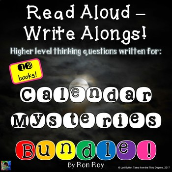 Calendar Mysteries Read Aloud Write Along Bundle