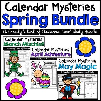 Calendar Mysteries Spring Bundle