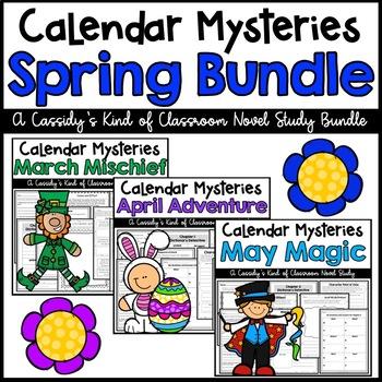 Calendar Mysteries Spring Bundle