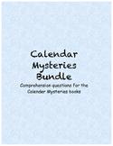 Calendar Mysteries comprehension questions (Bundle)