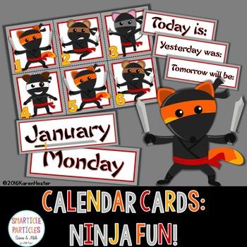 Calendar - Ninja Fun!