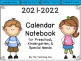 Interactive Calendar Notebook for Circle Time