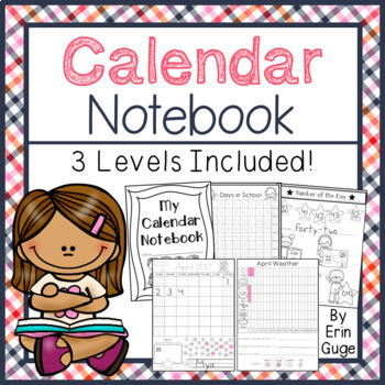 Calendar Notebook: A Daily, Interactive Activity (3 Levels Included)