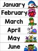 Calendar Notebook for Little Learners