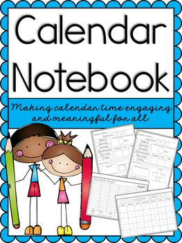 Calendar Notebook for the Entire Year
