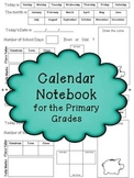 Calendar Notebook for the Primary Grades