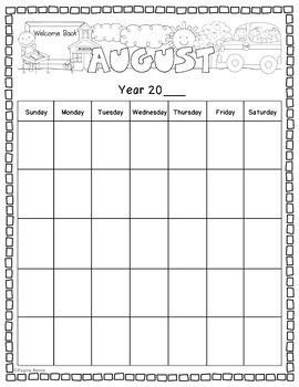 Calendar Notebooks