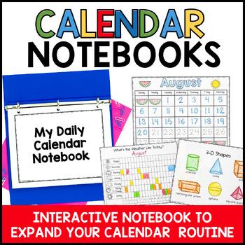 Interactive Calendar Notebo... by Time 4 Kindergarten | Teachers ...