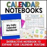 Interactive Calendar Notebooks for Kindergarten and First Grade 2021-2022