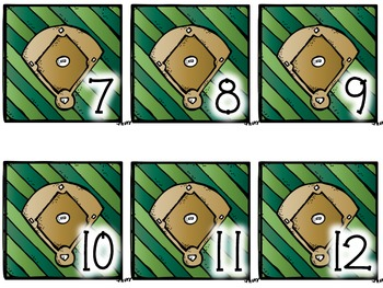 Calendar Number- Baseball
