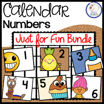 Calendar Number Bundle