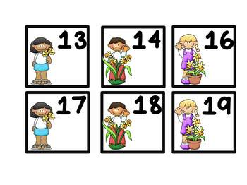 Calendar Number Bundle All Year Long Classroom Decor