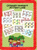 Calendar Number Bundle All Year Long Classroom Decor