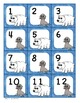 Calendar Number Cards Arctic Theme