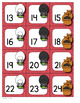 Calendar Number Cards Nursery Rhyme Theme