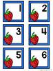 Calendar Number Cards - Strawberries