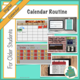 Calendar & Number Sense Routine for Students w/ Special Ne