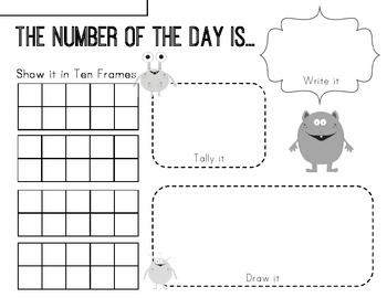 Calendar: Number of the Day!