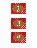 Calendar Numbers 1-31