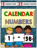 Calendar Numbers 1-36 / Number Labels for Hooks, Lockers, Floor Spaces and more!