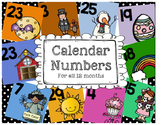 Calendar Numbers