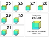 """Calendar Numbers (2.5"""" x 2.5"""") :: Featuring the CUBE shape"""
