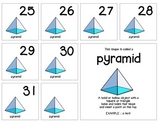 """Calendar Numbers (2.5"""" x 2.5"""") :: Featuring the PYRAMID shape"""